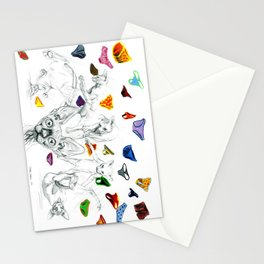 Say no to pants Stationery Cards