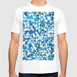 Icy triangles T-shirt