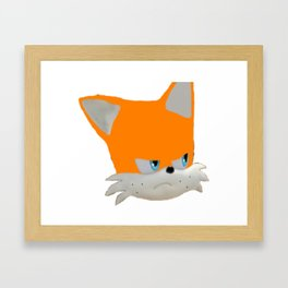 Mango Is Triggered - Mangombage Official Merchandise Framed Art Print