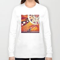 artsy Long Sleeve T-shirts featuring Artsy Dog by Coconuts & Shrimps