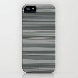 Sea of Greys iPhone Case
