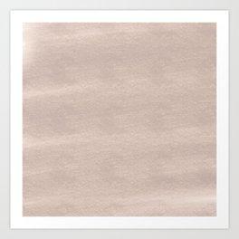 Chalky background - beige Art Print