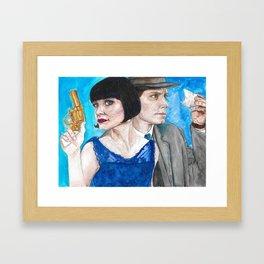 Phryne & Jack Framed Art Print