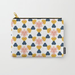 kaleidoscope white Carry-All Pouch