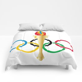 Olympic Rings Comforters