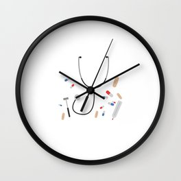 doctors equipment Wall Clock