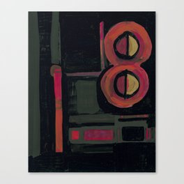 Super 8 Canvas Print