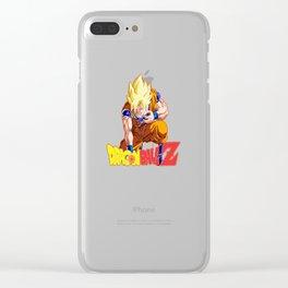 Songoku Super Saiyan Clear iPhone Case