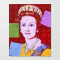 Lego: Queen Elizabeth II Canvas Print