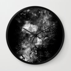 I'll wait for you black white version Wall Clock