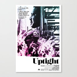 Uptight Canvas Print