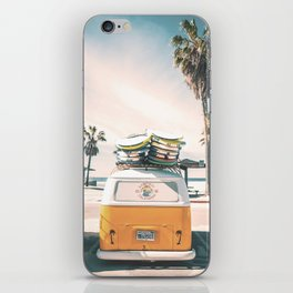 Surf Van Venice Beach California iPhone Skin