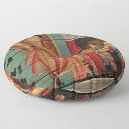 cuba libre Floor Pillow