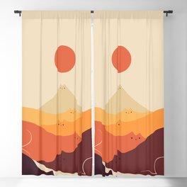 Cat Landscape 87 Blackout Curtain