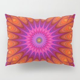 Hell mandala Pillow Sham