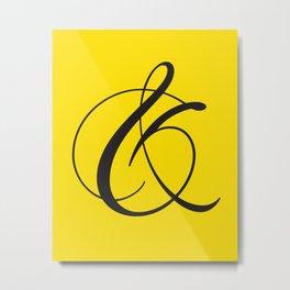 Ampersand 1 Metal Print