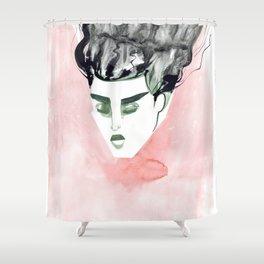 Windy Falling Head Shower Curtain