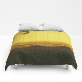A drop of coffee Comforters