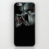 predator iPhone & iPod Skins featuring Predator by Shannon Laing