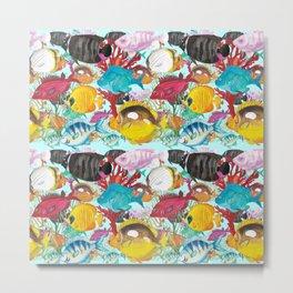 Coral Reef #1 - Water Metal Print