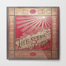 The Star of the Fairies Book Metal Print