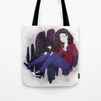marceline Tote Bags featuring Marceline by ribkaDory