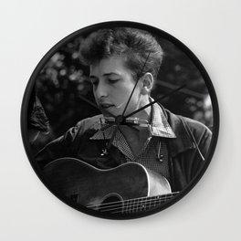 YOUNG BOB DYLAN Wall Clock