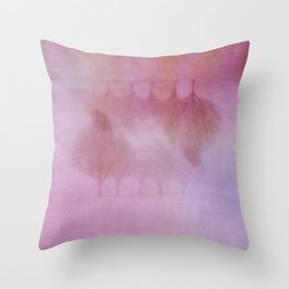 Immense Fog Throw Pillow