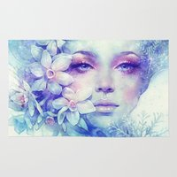 sale Area & Throw Rugs featuring December by Anna Dittmann
