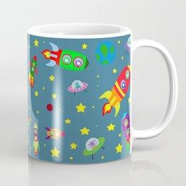 Rockets to the moon Coffee Mug