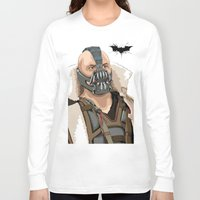 bane Long Sleeve T-shirts featuring Bane by Thomas Moore