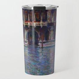 Palazzo Contarini by Claude Monet Travel Mug