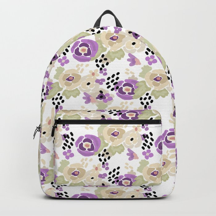 Abstract pattern , Spring 2 Backpack