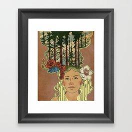 Sunshine Daydream Framed Art Print