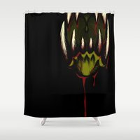 howl Shower Curtains featuring Howl by Jesse G.