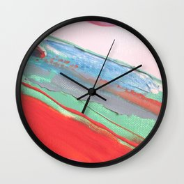 Heart Lines Wall Clock