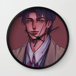 jonathan portrait Wall Clock