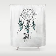 Poetic Key of Dreams Shower Curtain