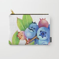 Wild Maine Blueberries Carry-All Pouch