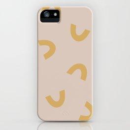 Mac & Cheese Rainbows iPhone Case