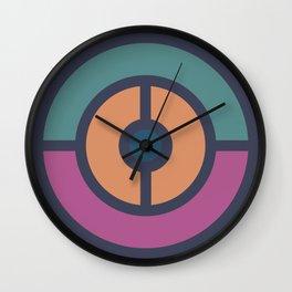 Color Harmony Wall Clock