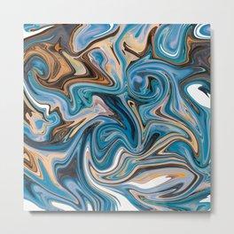 Marble 1 Metal Print