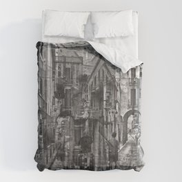 rerouted as recommendations and redefined as needs Duvet Cover