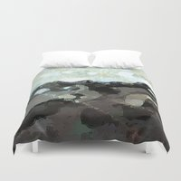 la Duvet Covers featuring LA by Paul Kimble