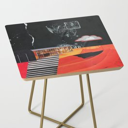 Dusk in the Flats Side Table