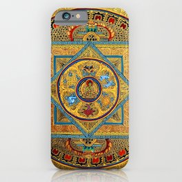 Buddhist Hindu Mandala 23 iPhone Case