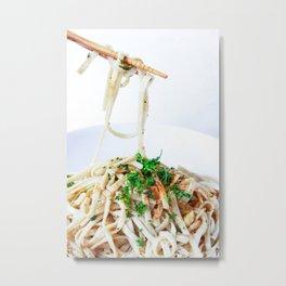Oodles of Noodles Metal Print