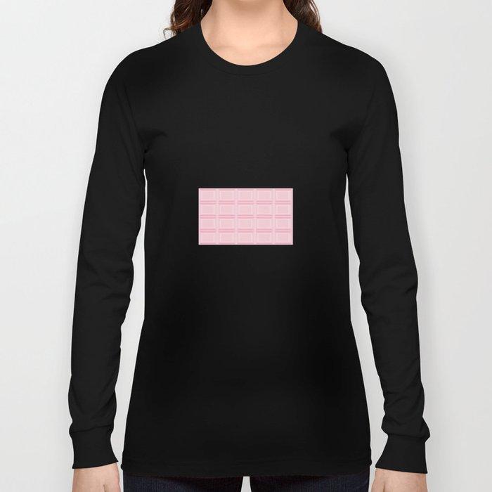 pink chocolate Long Sleeve T-shirt