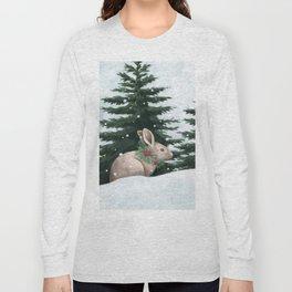 Winter Bunny Long Sleeve T-shirt