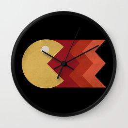 Vintage Retro Pacman Wall Clock